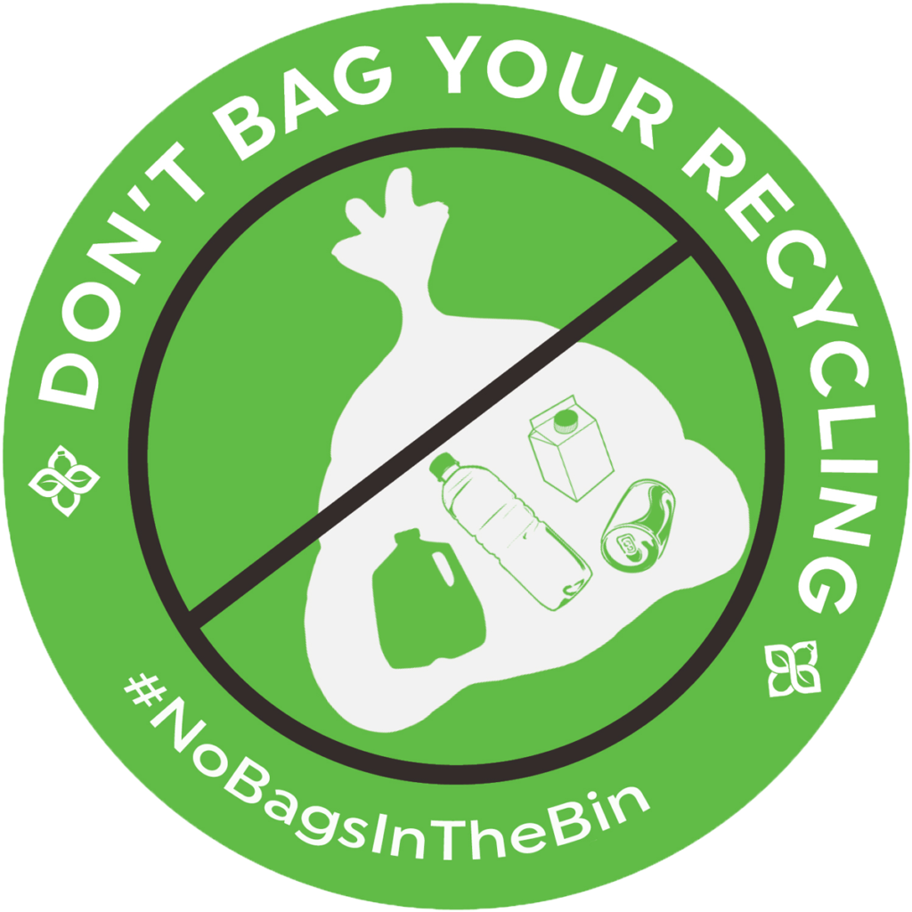 Don't Bag Your Recycling